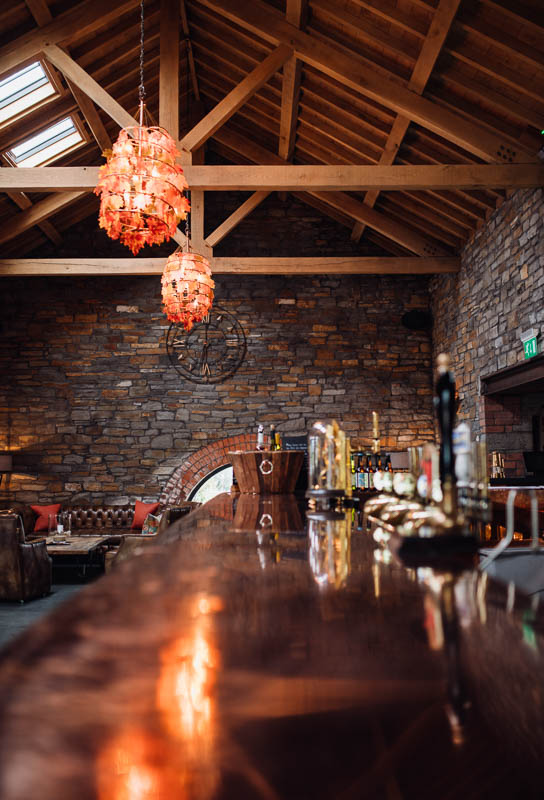 restaurant interior photography South Wales